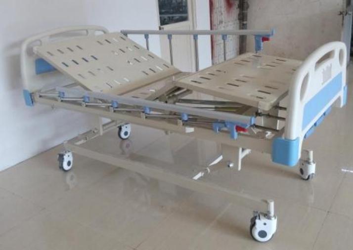 Giường bệnh nhân ABS 3 tay quay