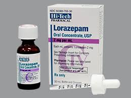 Tác dụng phụ Lorazepam