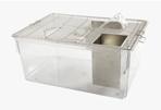 Lồng nuôi chuột phòng thí nghiệm CP6, kích thước 420x240x170mm