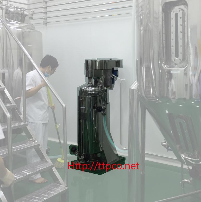 Máy ly tâm liện tục GQ 105 Máy ly tâm ống GQ105