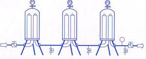 bản vẽ mô phỏng bộ lọc dịch inox 316L vô trùng cho dược phẩm