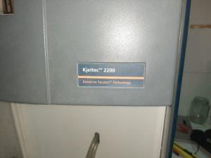 SỬA CHỮA MÁY CẤT ĐẠM FOSS KJELTEC 2200